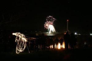 Bonfire Night North Wales