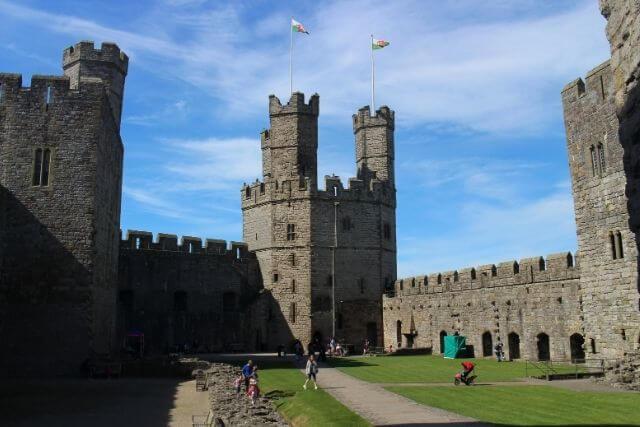Visit Caernarfon Castle October Half Term