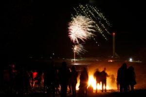 Fireworks Night in Holyhead