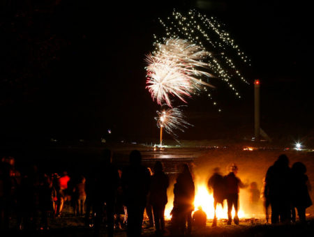 Fireworks Night in Holyhead