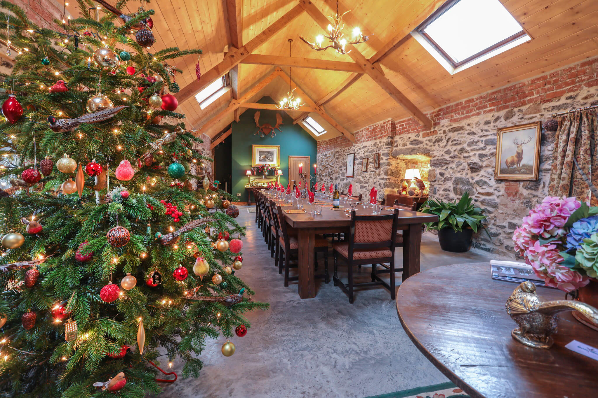 Holiday Cottages for Christmas Breaks in North Wales