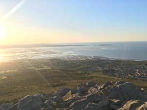 Top of Garreg Fawr above Llanfairfechan