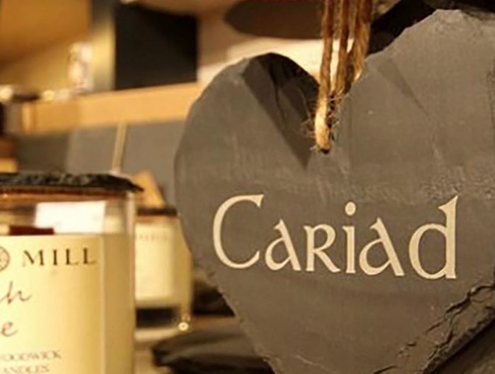 Valentines Day in North Wales. Cariad