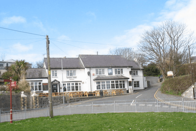 View of the Kinmel Arms Hotel in Moelfre