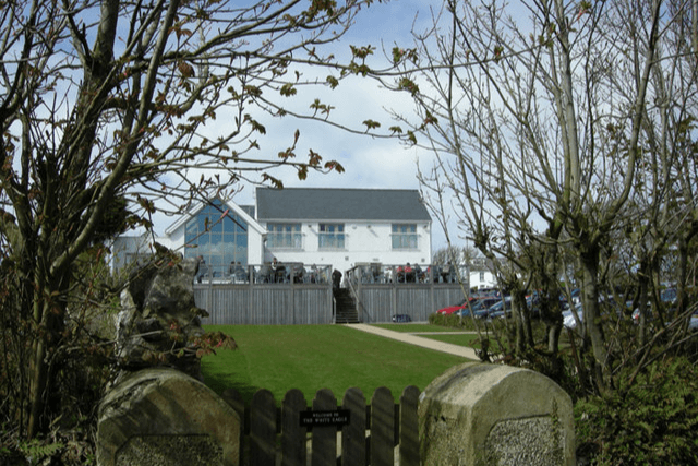 Views of The White Eagle, one of the best dog friendly pubs in Anglesey