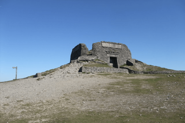 The Jubilee Tower on the top of Moel Famau