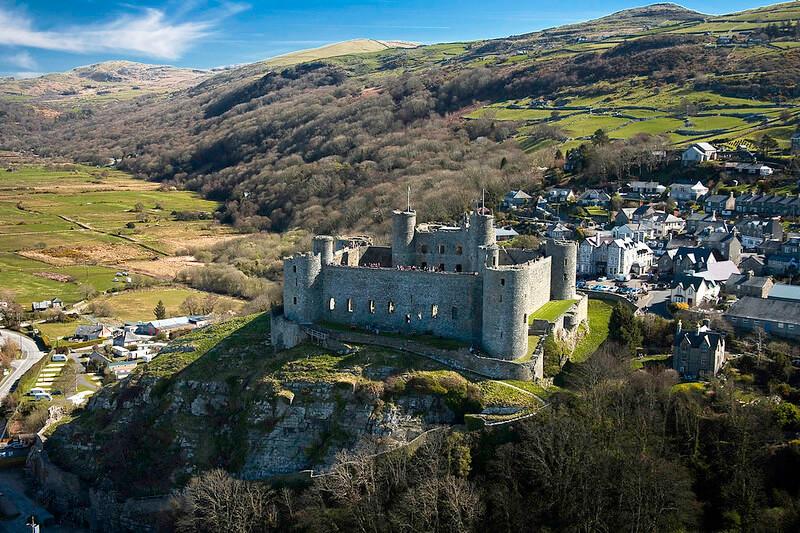 Visit a castle in Snowdonia