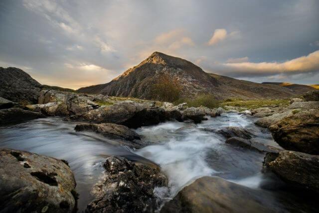 Stunning views of llyn Ogwen