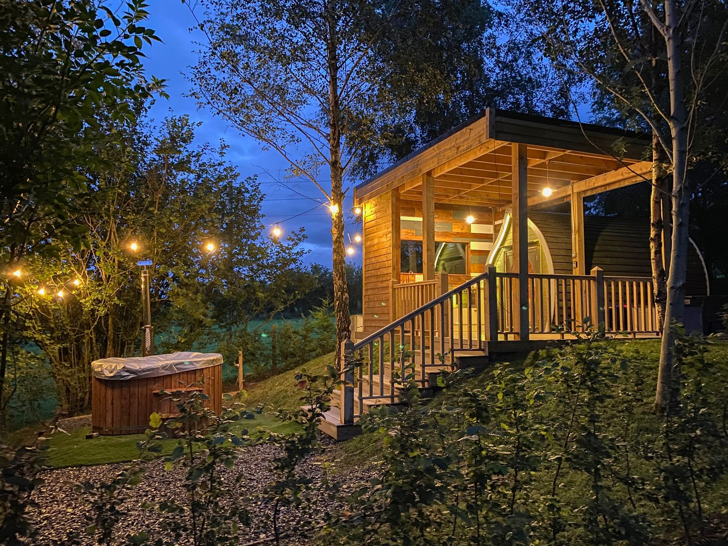 Orchard Pod | North Wales | Menai Holiday Cottages