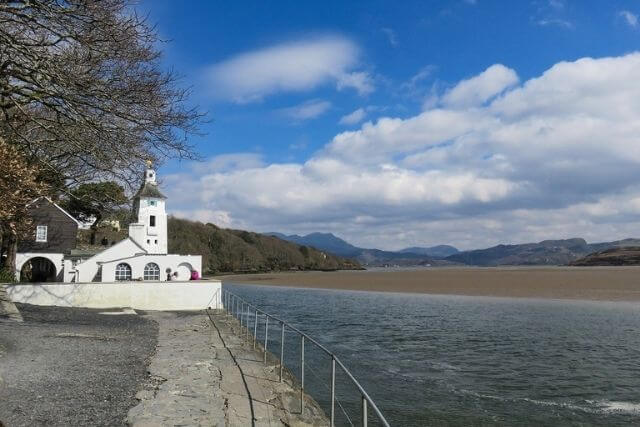 the Dwyryd Estuary from Portmeirion