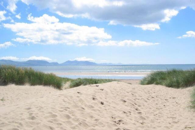 Sands and dunes at Newborough Beach