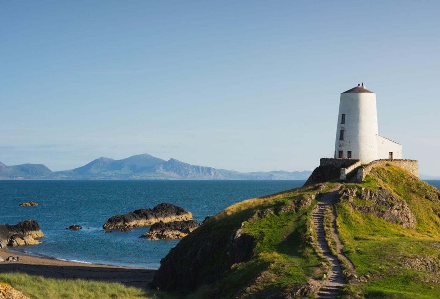 Llanddwyn Island and Llanddwyn Lighthouse