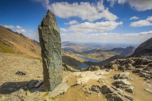 Views of Snowdon form the Pyg Track