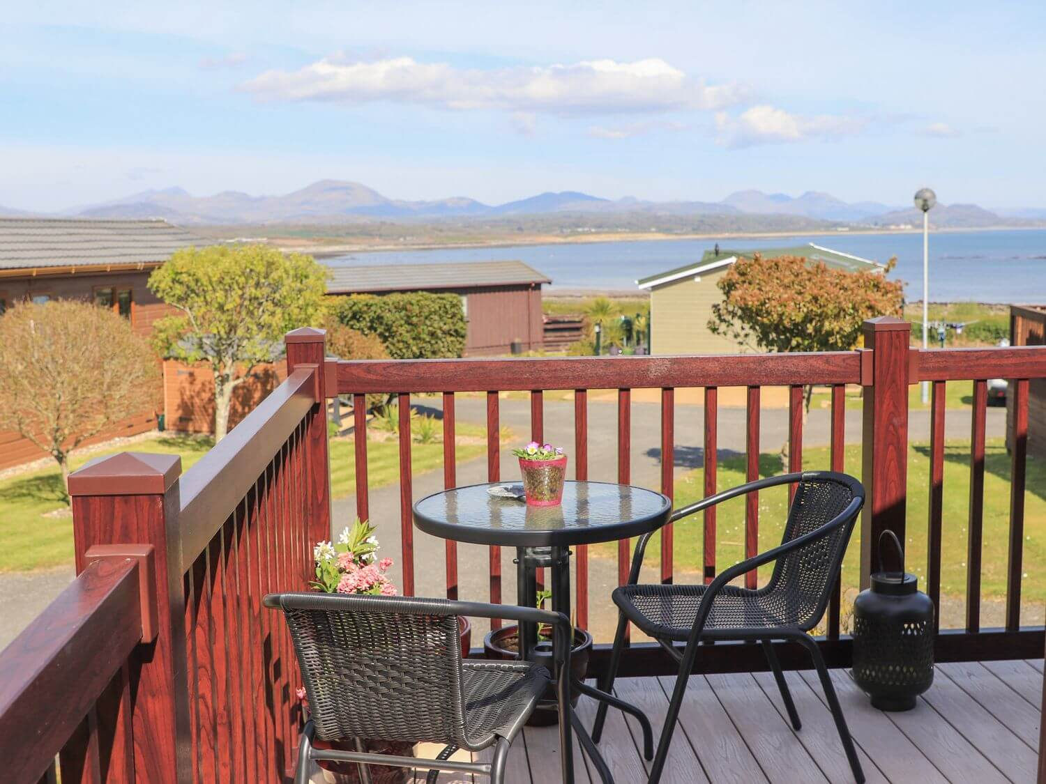 June Rose Holiday Lodge in Pwllheli, North Wales