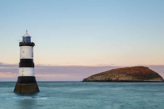 Trwyn Du Lighthouse at Penmon