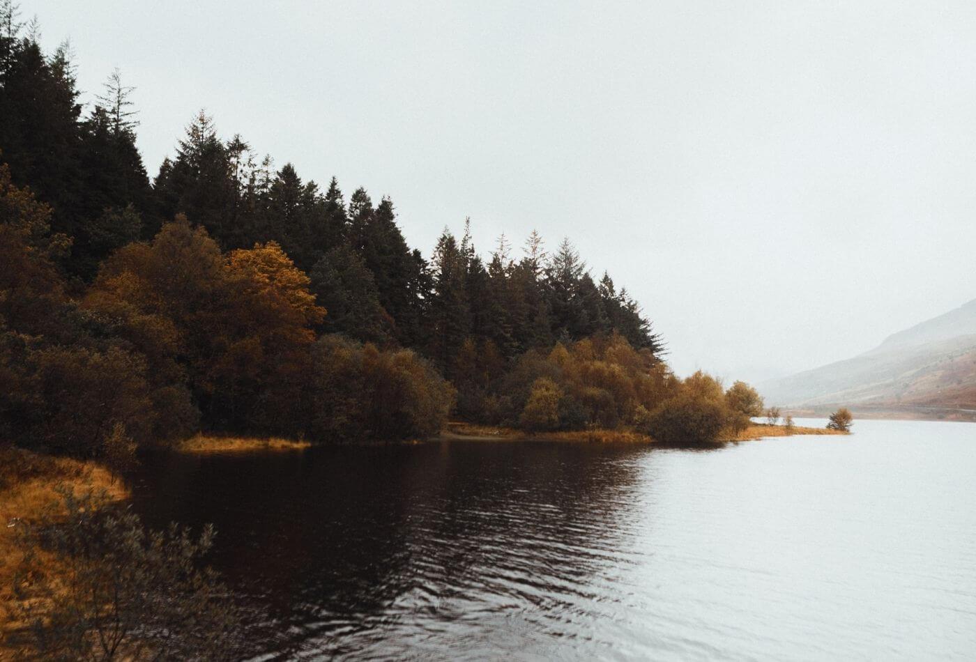Lakes in Snowdonia