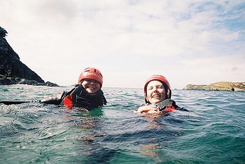 Coasteering in North Wales