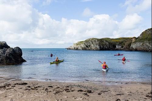 Kayaking in North Wales