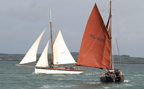 Sailing in North Wales